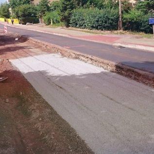 stabilizacja - dozowanie cementu