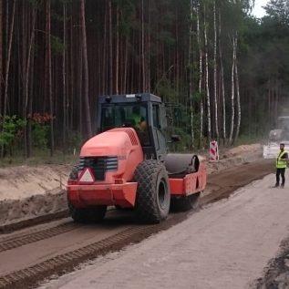stabilizacja gruntu - mieszanie izagęszczanie
