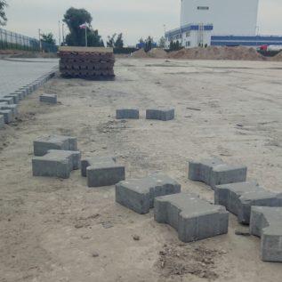układanie kostki betonowej