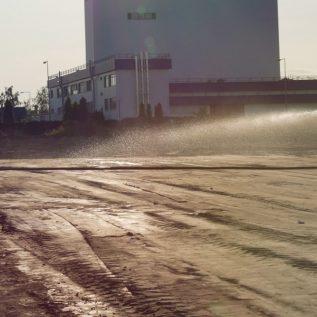 pielęgnacja warstwy stabilizacji hydrofobowej przezpolewanie wodą