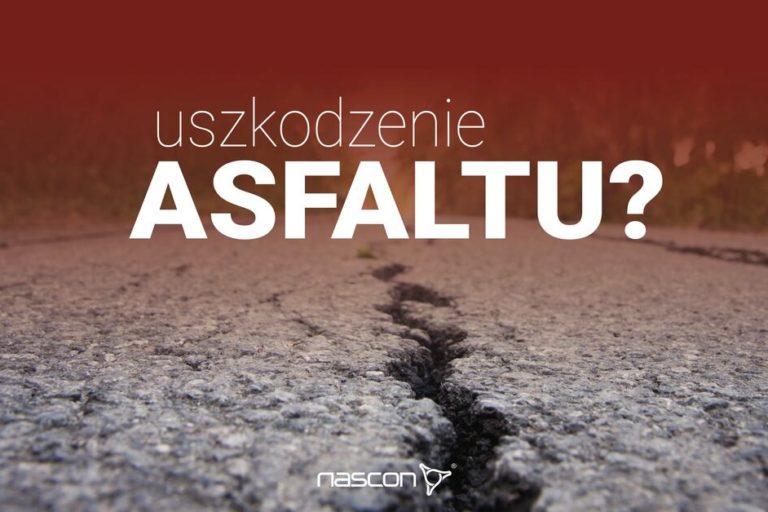 uszkodzenie asfaltu jakie są tego przyczyny ijak temu zapogiegać.