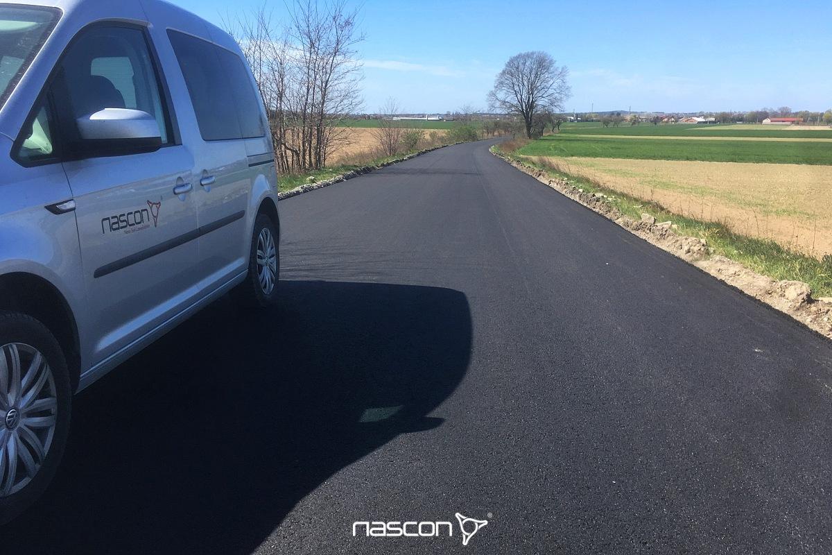 wygląd nawierzchni zmieszanek mineralno-asfaltowych